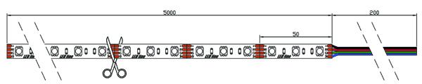 T300SMD5060RGB schemat